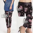 AU SELLER Sexy Women's Wrinkle flowery Lace Leggings Pants SZ XS-M p017