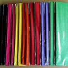 NEW TISSUE PAPER - 50cm x 70cm x 10 SHEETS - Red Green Black Lilac Purple Yellow