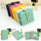 Women Cute PU Leather Clutch Ladies Short Wallet Purse Card Holder Bag DZ88