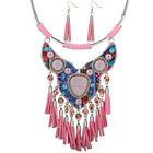 Vintage Tribal Choker Charm Chain Bohemia Choker Bib Statement Necklace Collar