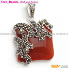 Seed_beauty 21mm Stone Bead Pendant + Free Gift Box / Bag