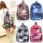 WOMEN GIRL LADY Galaxy Space Travel Rucksack Backpack Canvas Bag School Bookbag
