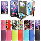 Wallet Flip Book Leather Case Cover For Various Motorola Moto Mobile Phones