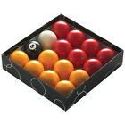 Powerglide Red And Yellow Standard Pool Balls - All Sizes (16 Piece)