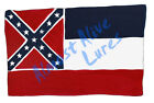 Mississippi State Flag MS Vinyl Decal Sticker - Car Truck RV Cup Boat Tablet