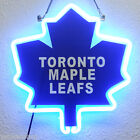 "PS064 Toronto Maple Leafs Hockey Bar Shop Display Neon Light 3D Sign 12""x12"""