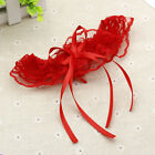 Sexy Lingerie Lace Thigh Wedding Bridal Cosplay Bowknot Garters Party Women mh