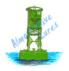 Green Buoy Channel Marker Nautical Decal Sticker - Car Truck RV Cup Boat Tablet