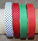 Grosgrain Swiss dot flat headband