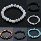 Men's Black Natural Lava Stone Buddha Beaded Charm Woman Bracelet Cheapest