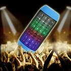 Portable Pulse LED Light Stereo Wireless Bluetooth Speaker FM For DJ Party Club