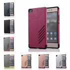 For Huawei Ascend P8 Hard Cases Bicolour Tough Armour Rubber Plastic Back Covers