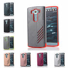 For LG V10 H900 H901 VS990 Hard Case Bicolour Tough Armour Rubber Plastic Cover