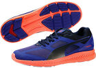 Puma Ignite Mens Neutral Cushioned Running Training Sports Gym Shoes Blue