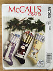 McCall's 7063 : CHRISTMAS STOCKINGS paper pattern