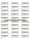 Fulfilled by Amazon (FBA) Blank Bar code Labels Print Your Own Merchant Barcode!