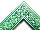 "1.25"" Emerald Green Cross Wood Picture Frame-Custom Made Standard Sizes"
