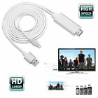8Pin To HDMI HDTV AV Adapter Cable For iPhone 5/5S/6/6S Plus iPad(3G/4G Version)