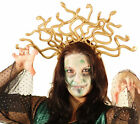 Halloween-Scary-Evil-Greek-Mythology-Fancy Dress MEDUSA SNAKE HEADDRESS One Size
