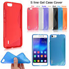 Ultra Slim S Line Wave Gel Case Silicone Cover For Various Mobile Phones Models