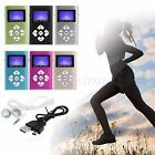 Mini USB Digital MP3 Music Player LCD Screen Metal Support 32GB TF Card+Earphone