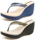 Ipanema Samba 2015 Womens Brasil Beach Wedge Flip Flops SIZES AND COLOURS 81521