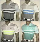 Fall 2016 Nike Modern Fit Transition Dry Stripe Mens Golf Polo (012,100,101,466)