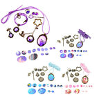 1 Set Theme Kits Jewellery Necklace Pendant Ring DIY Crafts Materials Earring