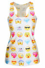 New! Marilyn Monroe, Princess, Skull, Emoji, Minion, Corpse Racer Back Tank Tops