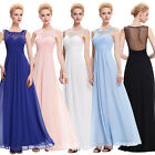 Long Chiffon Formal Evening Homecoming Pageant Dress Party Prom Bridesmaid Gown
