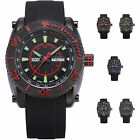 SHARK ARMY VOODOO III Series Mens Military Sport Watch Date Day 5 Colours + Box