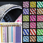 DIY 3mm/6mm 750/1000PCS Adhesive Glitter Crystal Gem Stickers Crystal Home Decor