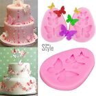 3D Butterfly Cake Silicone Fondant Chocolate Baking Tool Decorating Mold Model
