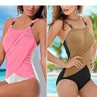 One-piece Swimming Suit Sun Dress Womens Celeb Sexy Mini Tops Playsuits Ladies