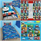 """THOMAS TEAM SINGLE DUVET PANEL + FREE STICKERS & CHOICE OF CURTAINS IN 54"""" & 72"""""""