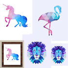 Unicorn Geometric Sticker Canvas Art Print Painting Poster Wall Pictures Decor