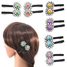 Acrylic Emjo Sunflower Hair Clip Barrette Alligator Hairpins Hair Accessories