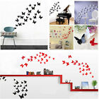 Removable 3D Butterfly Art Dream Room Decor Wall Stickers Kids Room/ Decals