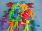 Sretchy Funny Face Men/ Aliens / Hearts with arms & legs Great Party Bag Fillers
