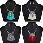 Vintage Women Crystal Tassels Long Chain Pendant Necklace Jewelry Statement new