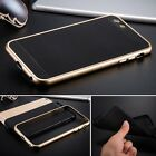 Luxury Shockproof Aluminum Metal Bumper Soft Back Case Cover For iPhone 6 6 Plus