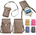 Cell phone Pouch Crossbody Shoulder Bag For iPhone 6s Plus/Galaxy S7 edge/Note 7