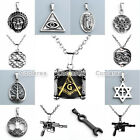 Fashion Unisex Mens Punk Stainless Steel Charm Pendant For Necklace Jewelry
