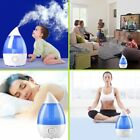Cool Mist Ultrasonic Humidifier Vaporizer Essential Oil Aroma Diffuser