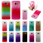 For Samsung Slim Bling Glitter Colorful TPU Rubber Soft Fashion Case Cover Skin