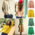 Knit sweater featuring 2 elbow patch long sleeves women cardigan with buttons