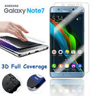 For Samsung Galaxy Note7 Full Cover Tempered Glass/Clear Screen Protector Curved