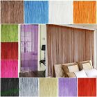 Curtains patio string door divider room window curtains blind tassel fly screen