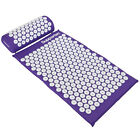 SUPPORTEC ACUPRESSURE MASSAGE MAT & PILLOW YOGA/ACUPUNCTURE STRESS/PAIN/TENSION