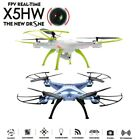 FPV Real-time Syma X5HW HD Camera WIFI RC Drone Quadcopter High Hold + Battery